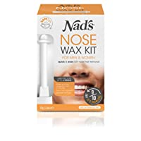 Nad's Nose Wax Kit for Men & Women - Waxing Kit for Quick & Easy Nose Hair Removal