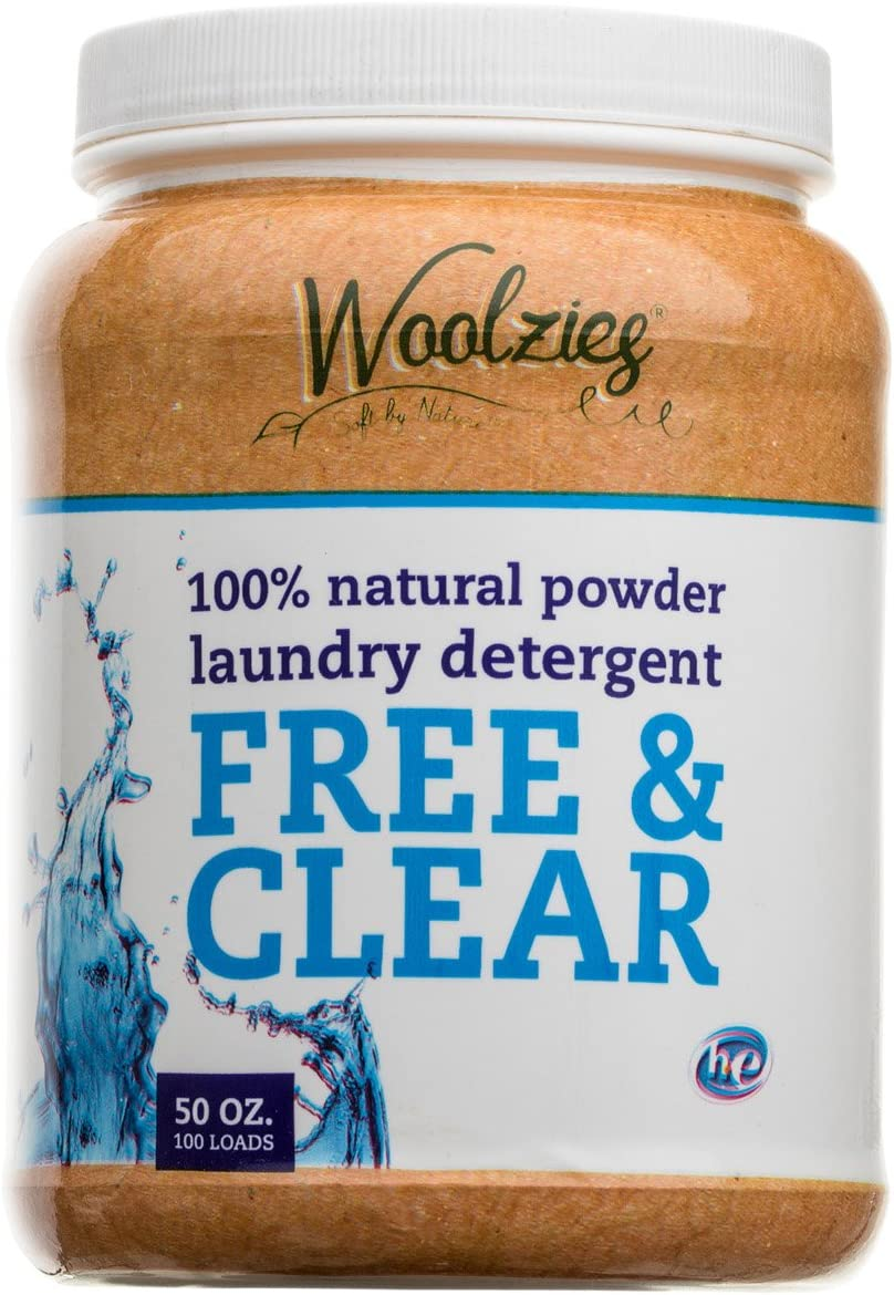 Woolzies 100% Natural Powder Detergent Free and Clear