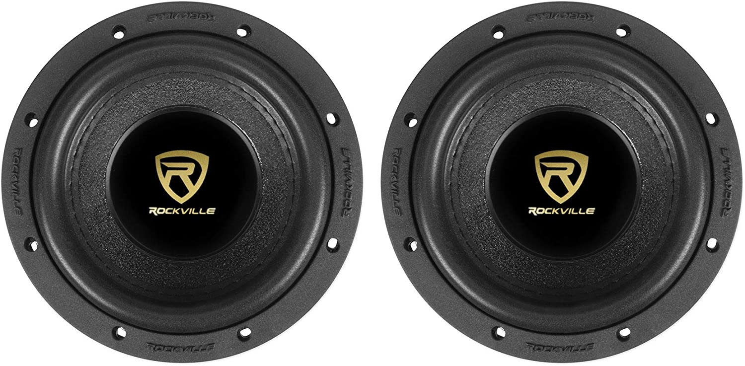 "(2) Rockville W65K9D2 6.5"" 1000 Watt Car Audio Subwoofers Dual 2-Ohm CEA Subs 71F20w6NxOLSL1500_"