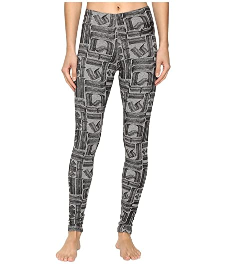Nike Sportswear Leg-A-See Rostarr Printed Legging Carbon Heather/Black  Women's Casual