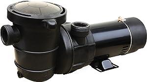 FlowXtreme NE4515 Pro II Above Ground Pool Pump 2-Speed, 4920-2160 GPH/0.75/0.28HP, Black