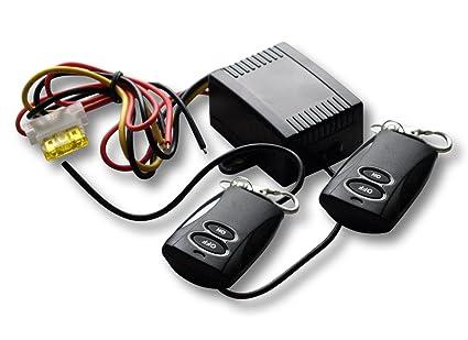 Funkfernbedienung 1 Kanal Fernbedienung Schaltleistung 12V 12A, ON/OFF, Schalter, 2x Handsender