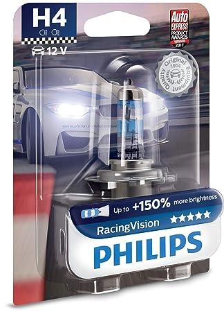 Philips 12342RVB1 Bombilla para Faros Delanteros, Azul: Amazon.es: Coche y moto