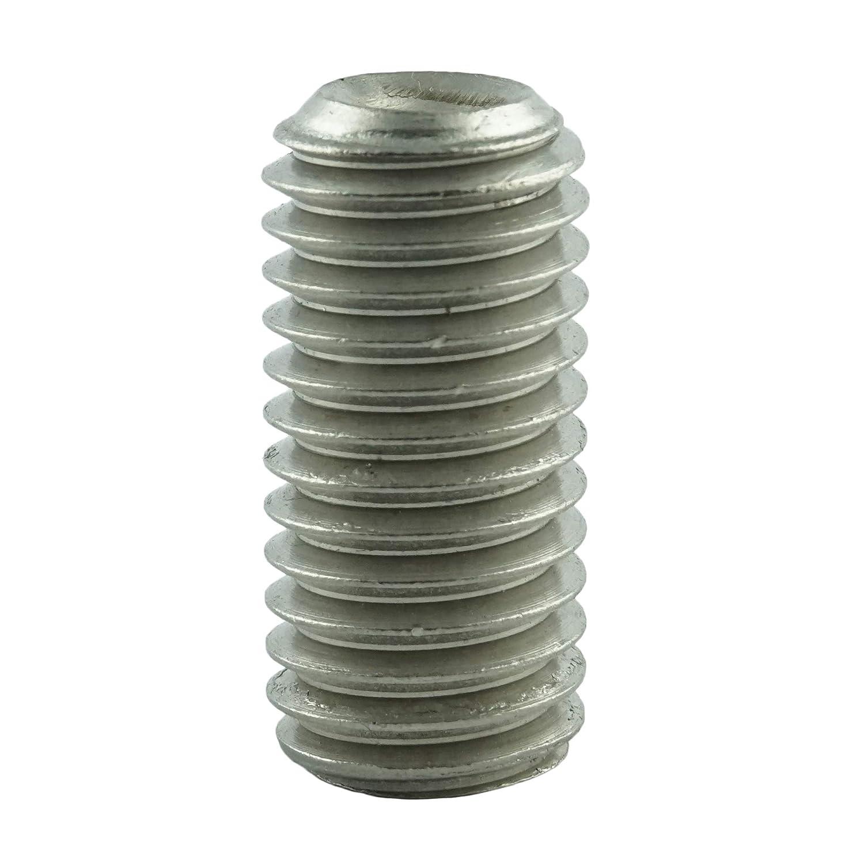 - Madenschrauben DIN 916 Eisenwaren2000 rostfrei ISO 4029 M4 x 8 mm Gewindestift mit Innensechskant und Ringschneide Gewindeschrauben Edelstahl A2 V2A 5 St/ück