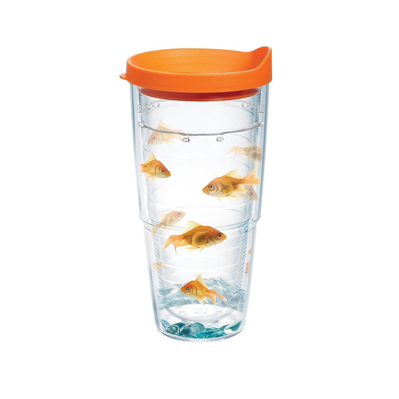 Amazon.com   Tervis Tumbler, Goldfish, 24 oz with Travel Lid ...