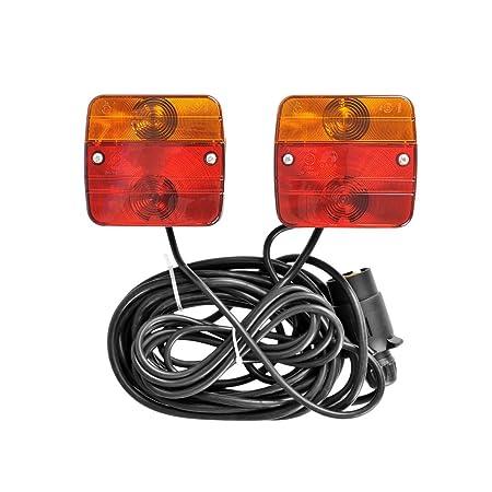 Anhänger Beleuchtung Komplett Set | Dkb Magnetleuchten Set Anhangerbeleuchtung Ruckleuchen Set