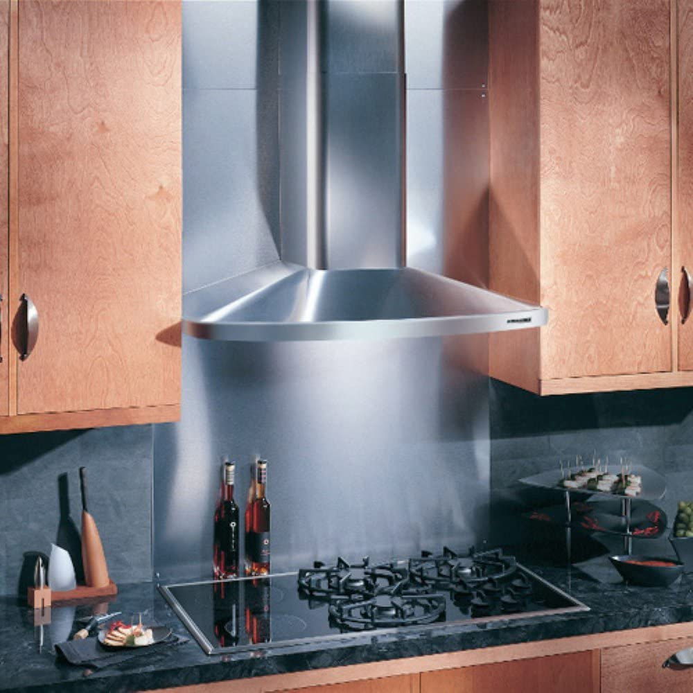 Broan RM523004 Elite Wall-Mounted Chimney Hood, Stainless Steel Hood with Internal Blower for Kitchen, 7.0 Sones, 370 CFM, 30""