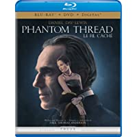 Phantom Thread [Blu-ray + DVD + Digital] (Bilingual)