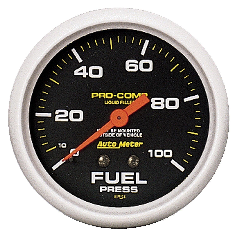 Auto Meter 5412 Mechanical Fuel Pressure Gauge