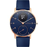 Withings Steel HR Hybrid Smartwatch, fitnesshorloge met hartslag- en activiteitenmeting.