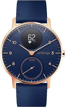 Withings Steel HR Hybrid Smartwatch, fitnesshorloge met hartslag- en activiteitenmeting.