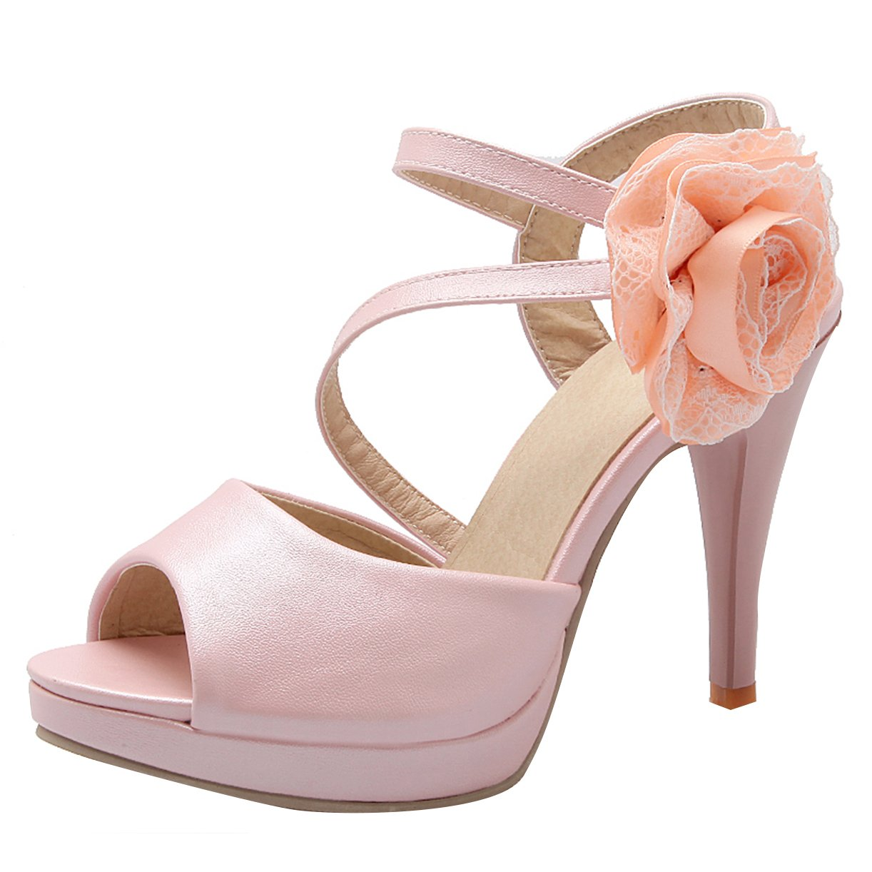JYshoes B00IJNL1GC Rose , Plateforme Femme Femme Rose ca127a2 - conorscully.space