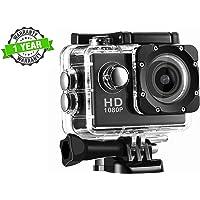 Kingsford 1080P Waterproof Sport Action Camera 2 inch LCD Screen 12 MP Full HD