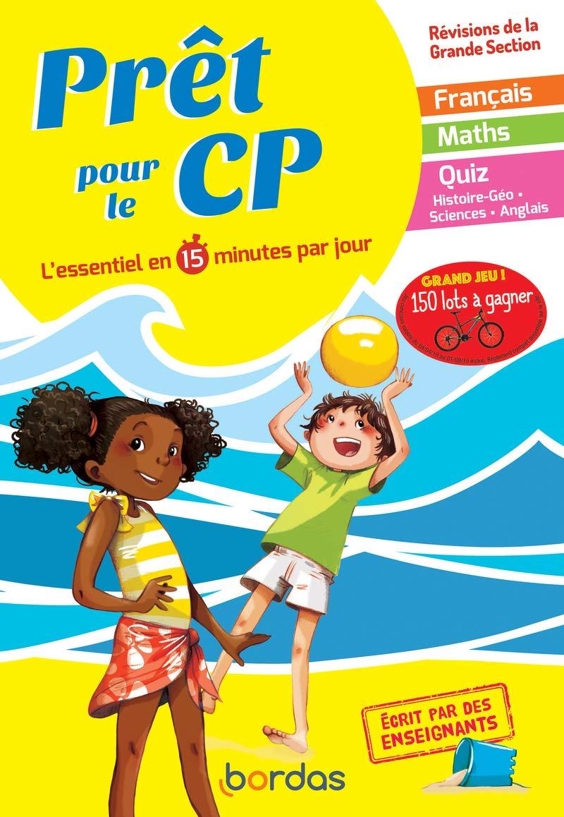 Pret Pour Le Cp Cahier De Vacances Revisions De La Grande