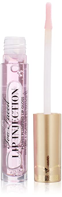 Too Faced Lip Injection Power Plumping Lip Gloss for Women, 0 14 Ounce
