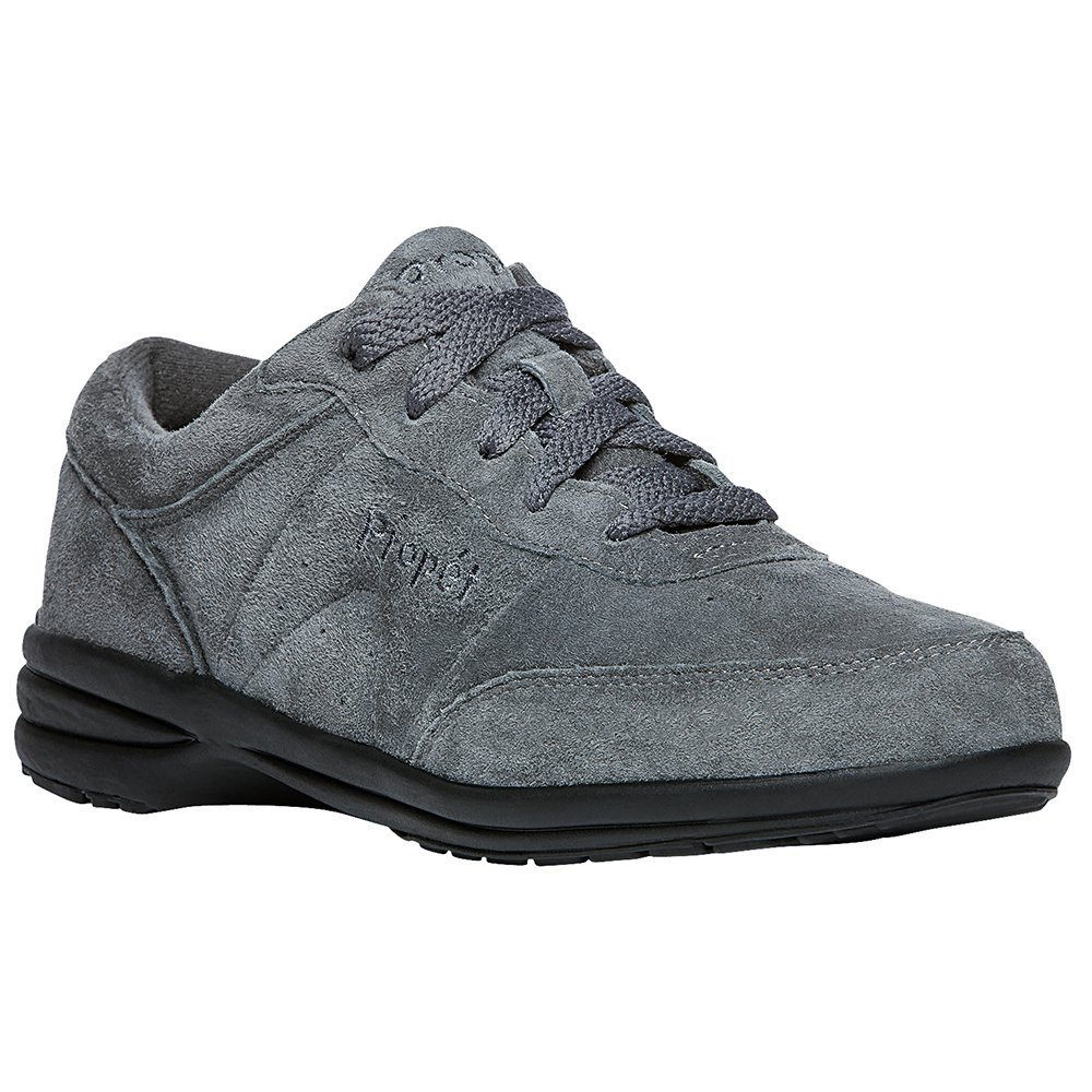 Propet Women's Washable Walker Sneaker B078YBGBLG 8.5 B(M) US|Grey