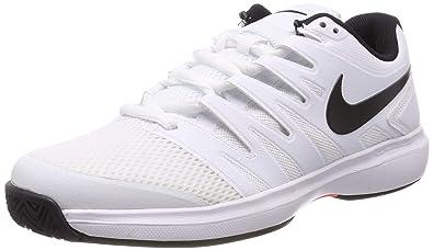finest selection b42f4 86164 Nike Air Zoom Prestige HC, Chaussures de Tennis Homme, Mehrfarbig  (White Black