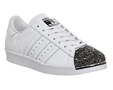 adidas Superstar 80s Metal Toe TF W, Ftwr White/Ftwr White/Core Black: Amazon.it: Scarpe e borse