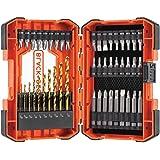 BLACK+DECKER BDA46SDDD Drilling and Screwdriving Set (46 Piece)
