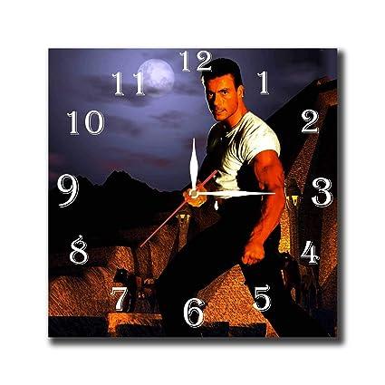 Amazon Com Mv Jean Claude Van Damme 11 8 Handmade Wall