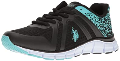 U.S. Polo Assn.(Women's) Women's Piper-k Fashion Sneaker, Black/