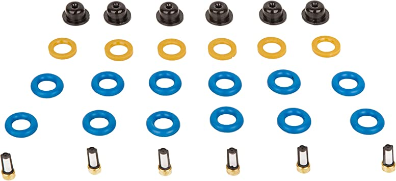 Fuel Injector Seal Filter and O-Ring Service Kit for Mitsubishi 4-Cylinder