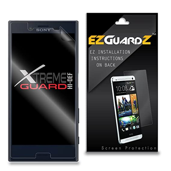 Amazon 6 Pack Ezguardz Screen Protector For Sony Xperia X