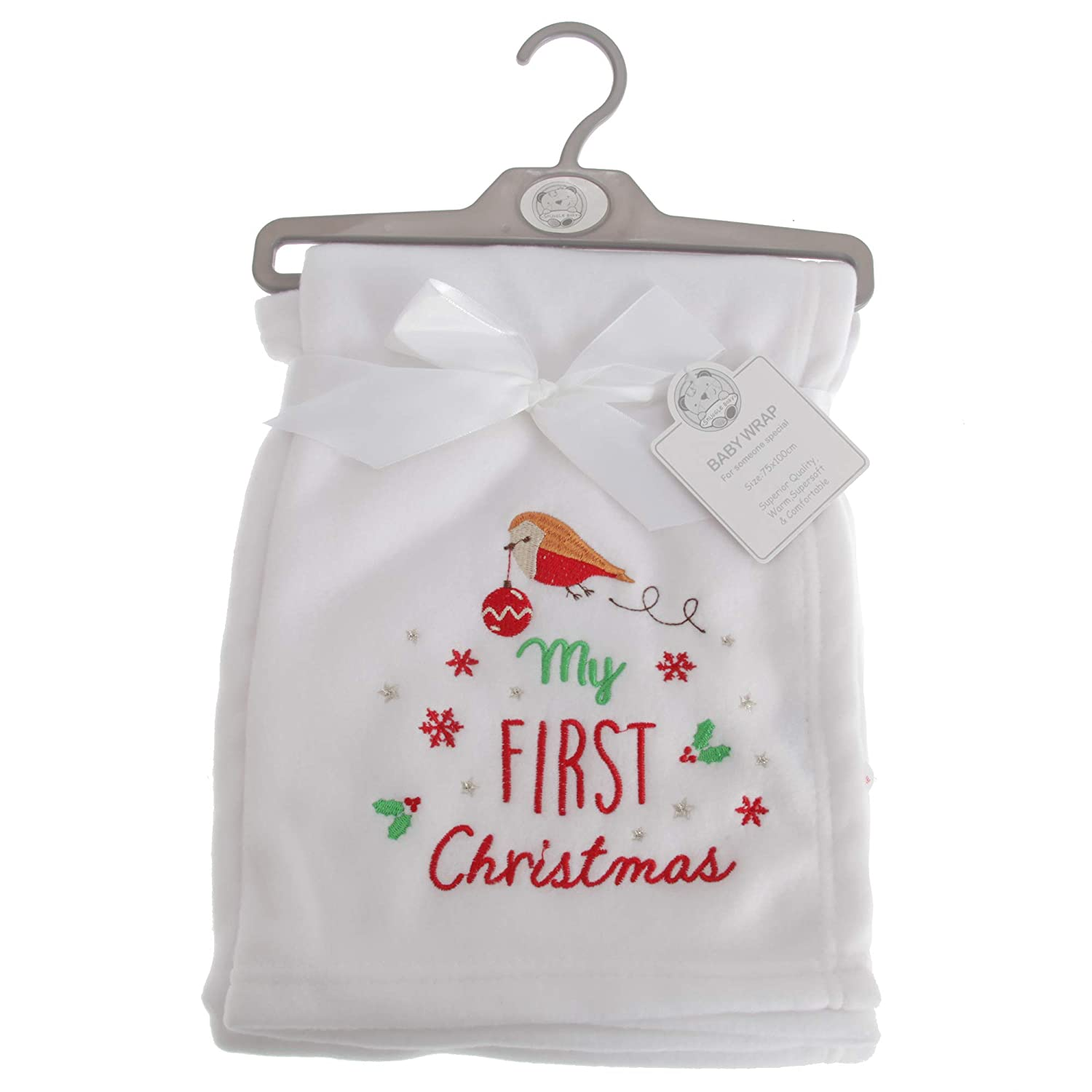 Snuggle Baby Baby Boys/Girls My First Christmas Wrap UTBABY1522_1