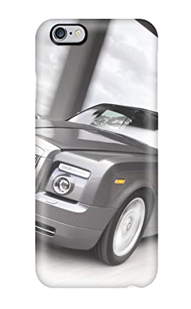 Premium Silver Rolls Royce Wallpaper Heavy Duty Protection Case For Iphone 6 Plus