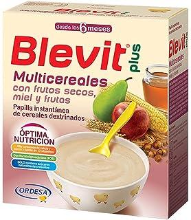 3600 gr Total Paquete de 6 x 600 gr Nutrib/én Frutos Secos Papilla 8 Cereales Miel