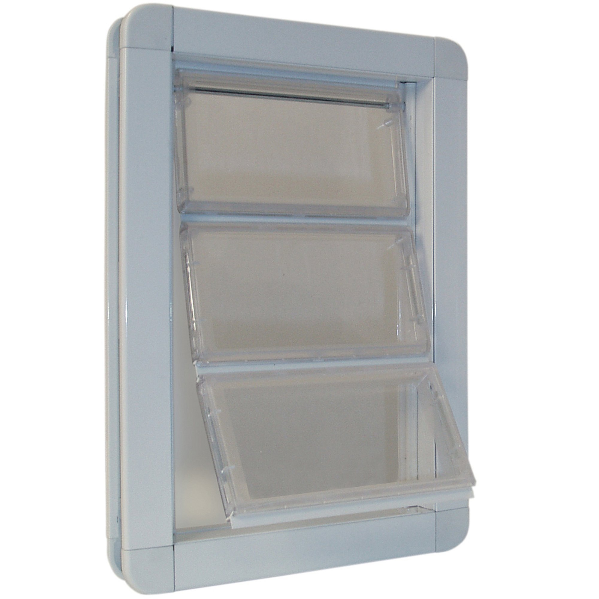 Perfect Pet Premium Draft Stopper Pet Door White, 17.9375IN x 2.125IN x 23.875IN, X-Large