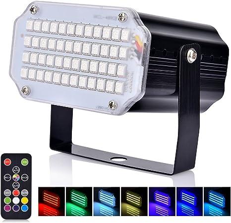 Mini Luz Estroboscópica del LED, AUSHEN Activación por Sonido y ...