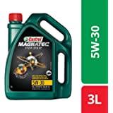 Castrol MAGNATEC Stop-Start 5W-30 Full Synthetic Engine Oil for Petrol, Diesel and CNG Cars (3L)