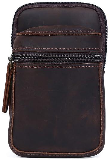 cb41659b60e1 Amazon | [(チョウギュウ) 潮牛] 本革 ヌメ革 メンズ ウエストバッグ ...
