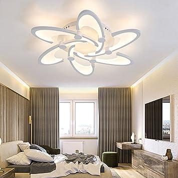 Modern acrílico - Lámpara de techo de metal blanco ...