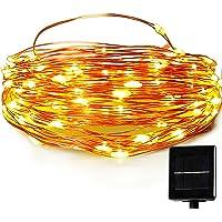 Easydecor 100 LED 33ft Solar Christmas String Lights