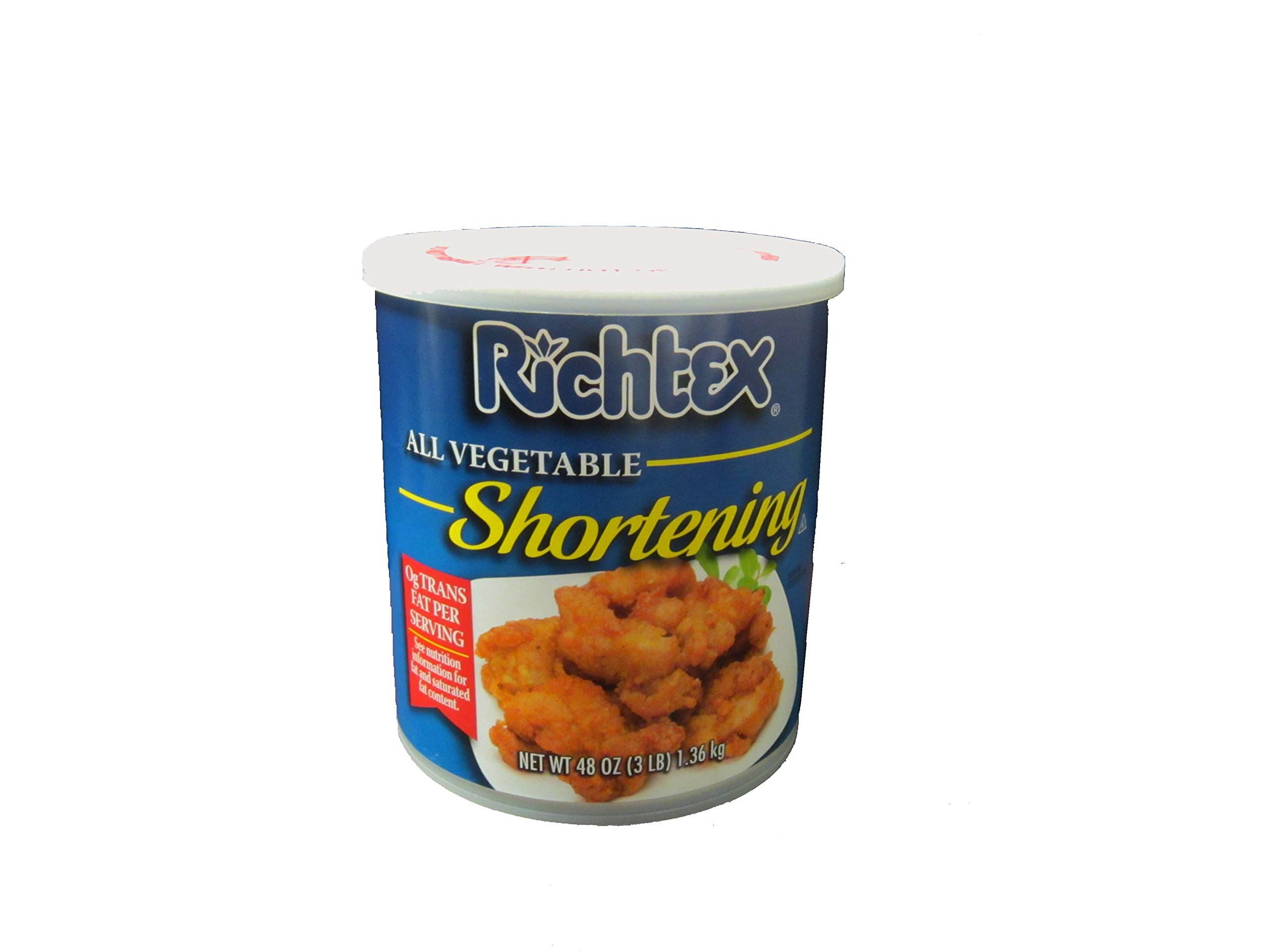 Richtex Vegetable Shortening 3 lb, 12 per case
