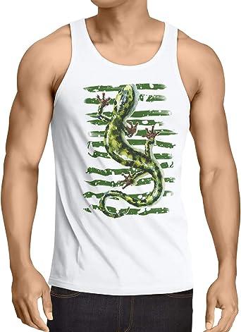 Amazon.es: Lagarto Camisetas Camisetas y tops: Ropa