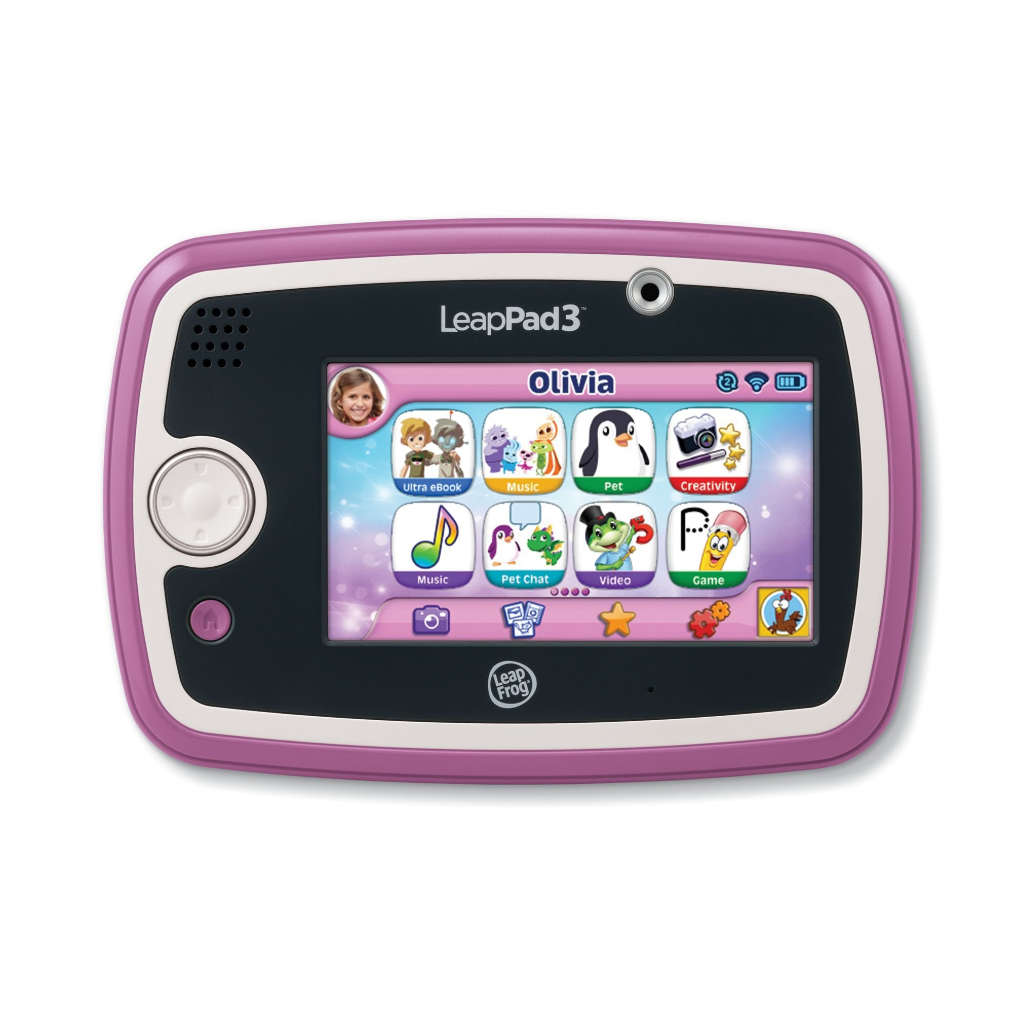 LeapFrog LeapPad3 Kids' Learning Tablet, Pink