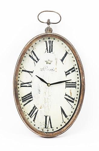 Zentique Paris Oval Wall Clock