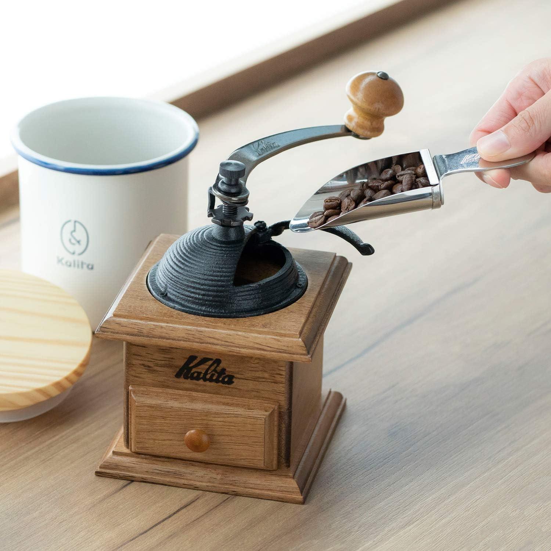 カリタ Kalita コーヒーミル 手挽き ドームミル #42033