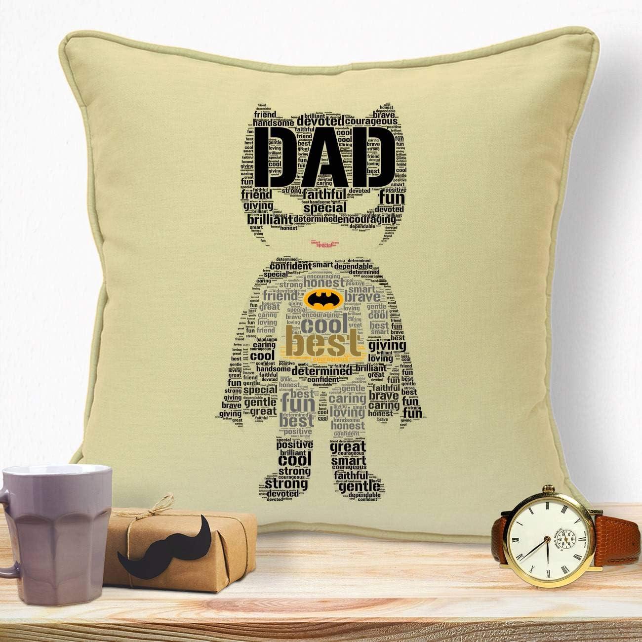 PERSONALISED BATMAN NEW LOGO BIRTHDAY CHRISTMAS GIFT DAD DADDY FATHER WORD ART