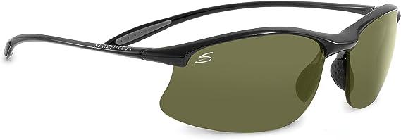 SERENGETI Maestrale Gafas, Unisex Adulto, Negro (Shiny Black), M/L