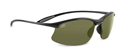 d9820ab8e7 Amazon.com  Serengeti Maestrale Sunglasses (Polar PhD 555