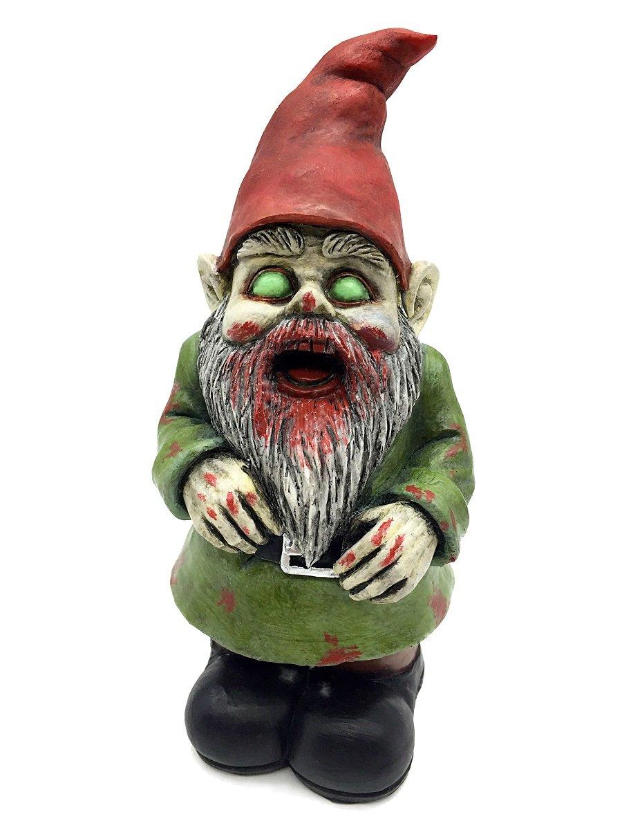 Gnome In Garden: FICITI G150027 Zombie Walking Dead Gnome Garden Statue