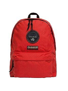 napapijri Mochila Voyage noygos Bright Red Rojo Laptop Escuela excursiones: Amazon.es: Oficina y papelería