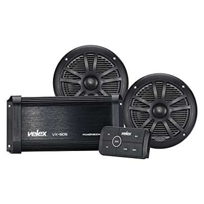 Marine Bluetooth Amplifier Speaker Package: Home Audio & Theater