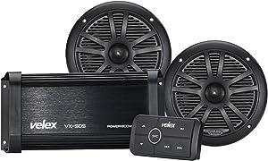 Marine Bluetooth Amplifier Speaker Package