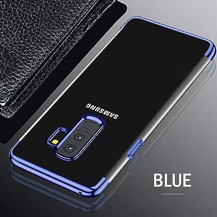 Amazon.com: Carcasa de TPU para Samsung Galaxy S8 S9 Plus S6 ...