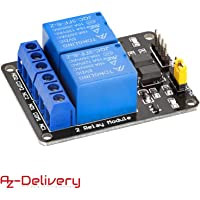 AZDelivery Rele Modulo de 2 canales 5V